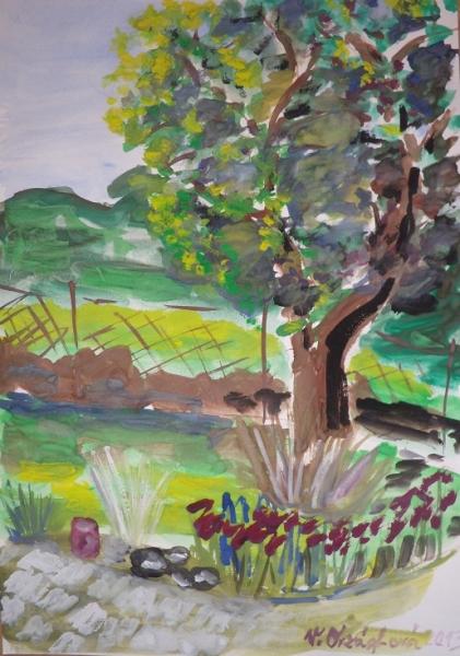 Zahrada v Popovicích