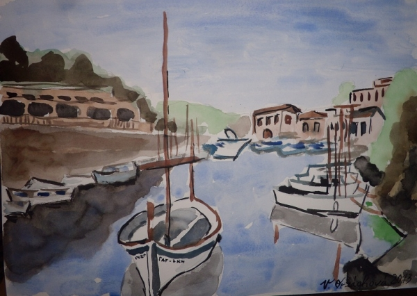 přístav - Mallorca