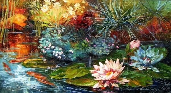 Vodní lilie