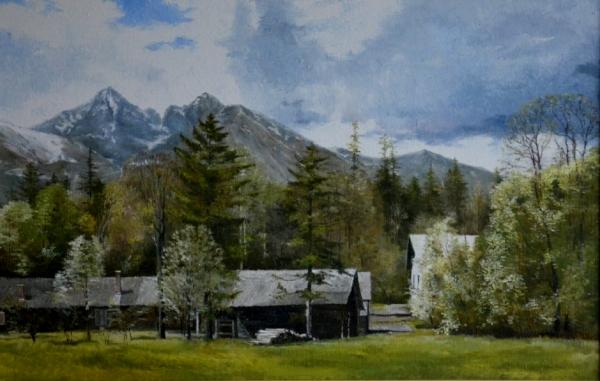 Jar v Tatranskej Lomnici