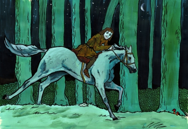 Orphanus na koni