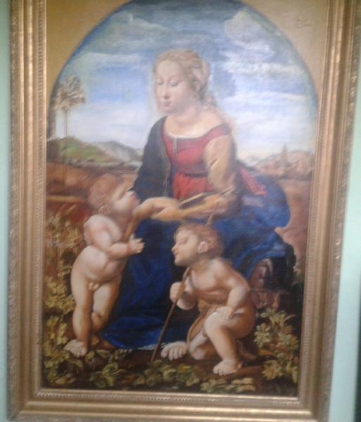 Madona s dieťaťom a sv. Ján