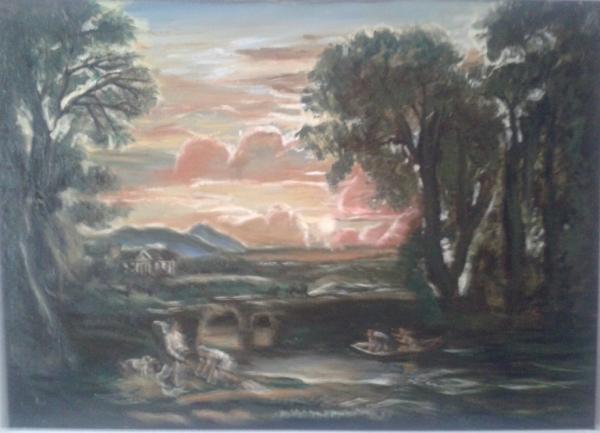 Krajina s Tobiášom a Anjelom