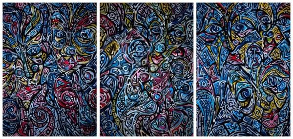 Můj svět - triptych