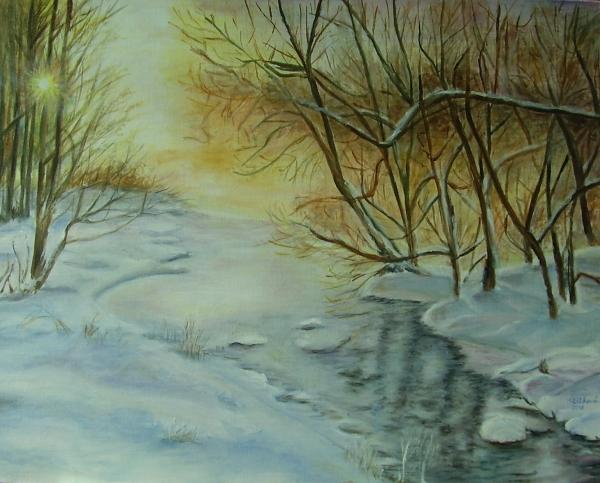 94 Zimné ráno