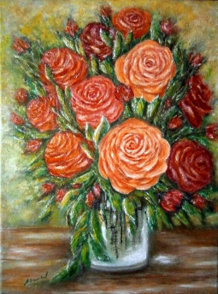 Ruže vo váze..