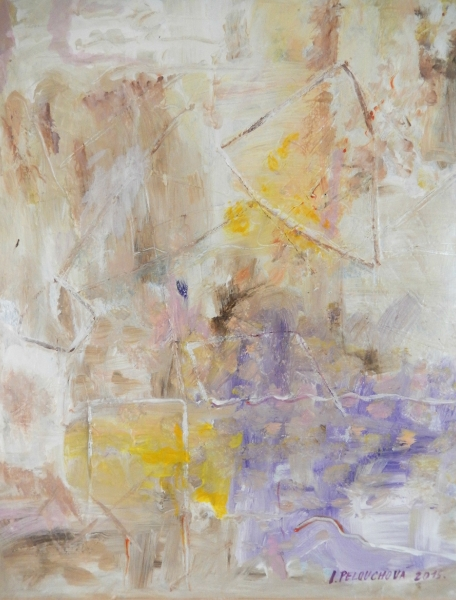 Bílá abstrakce