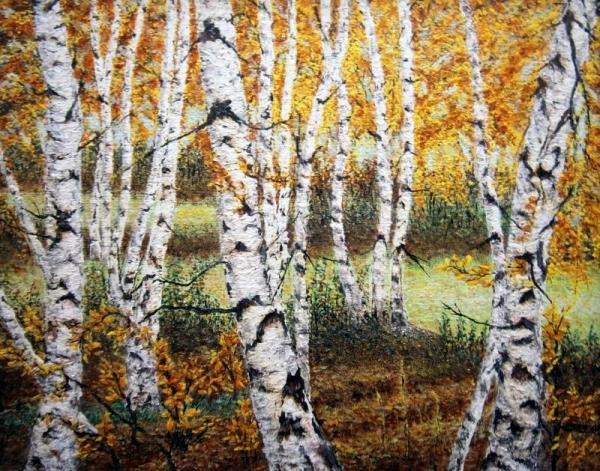 Brezy v lese..