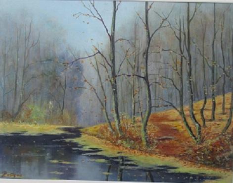 Cerne jezero (podzim)