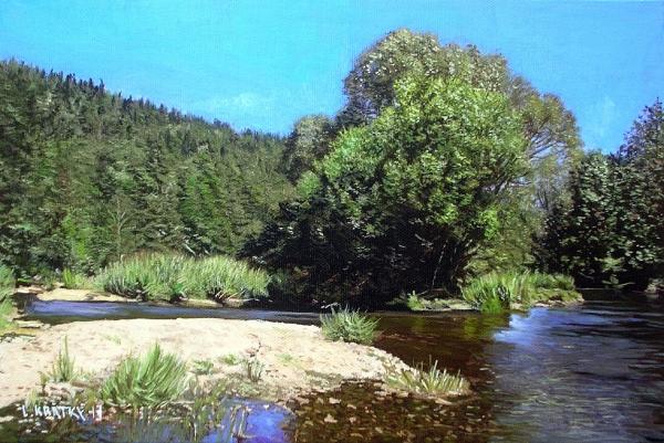 Soutok potoků