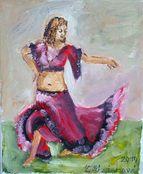 Flamenco v Popelíně