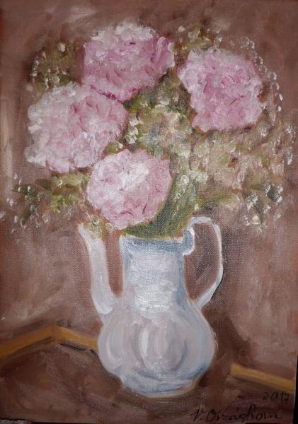 cyklus Květinová - Hortenzie