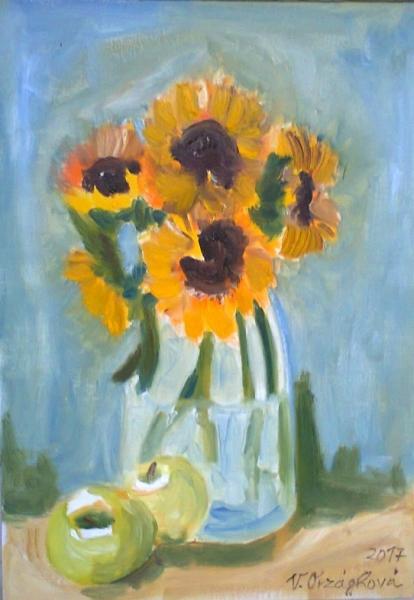 cyklus Květinová - Slunečnice