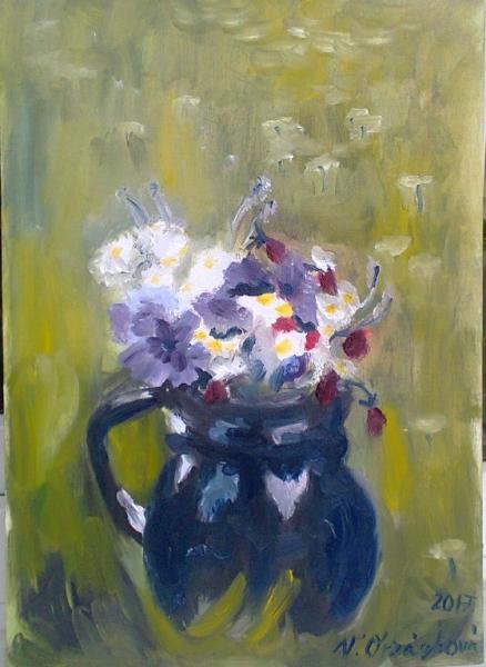 cyklus Květinová -Luční kvítí