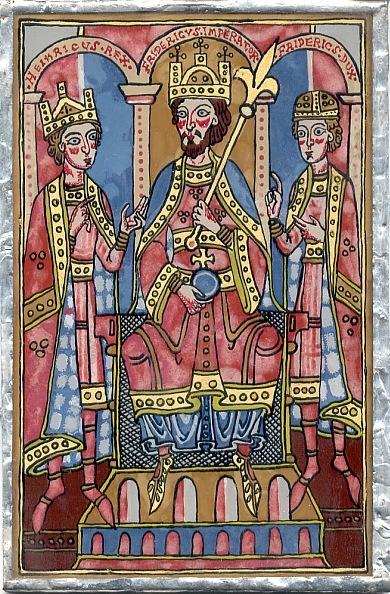 Císař Fridrich a synové