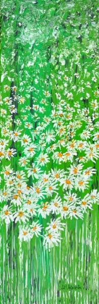 Sedmokrásky v tráve