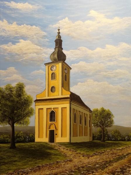 Kostel v Říčanech u Brna
