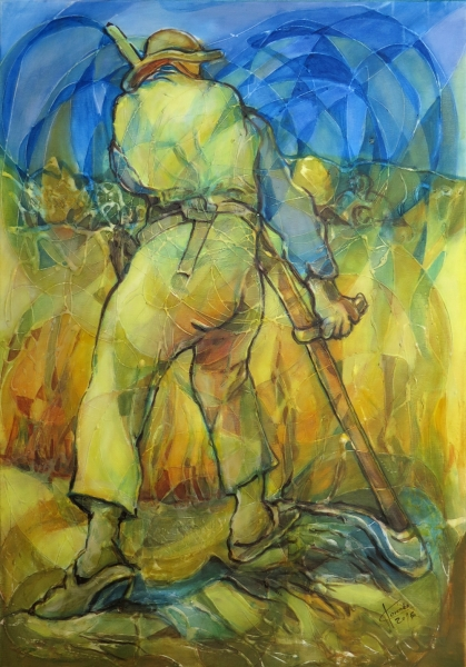 Obraz- Pocta Vincentovi