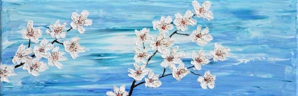 Kvitnúce čerešne 1