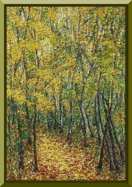 Jeseň v lese..