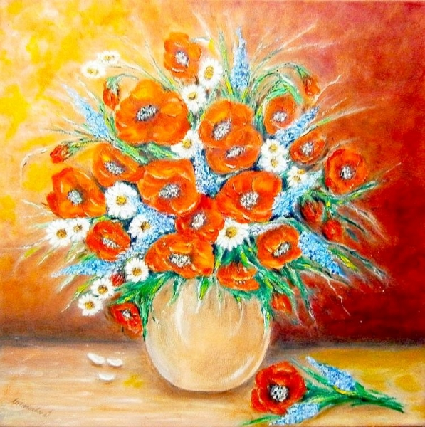Kytica  letných kvetov1