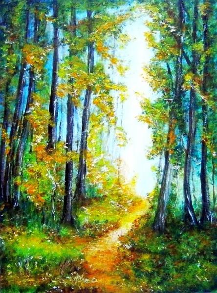 Lesná cestička..