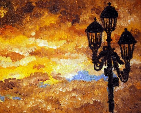 podvečerní lucerna