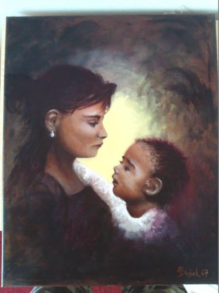 Madonna s děťátkem