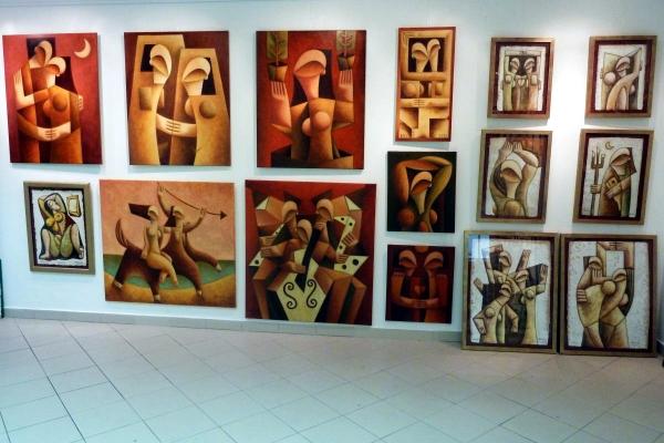 Má díla v Slovanet art gallery