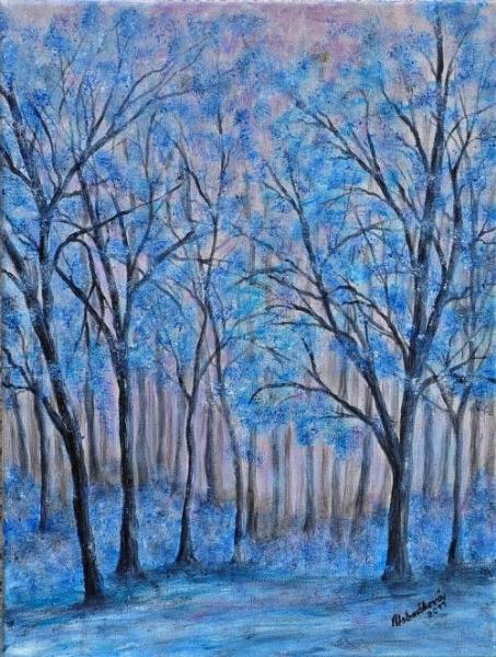 Les kráľovnej zimy..