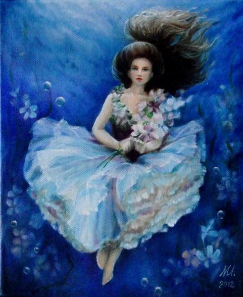 Paní vodních květů