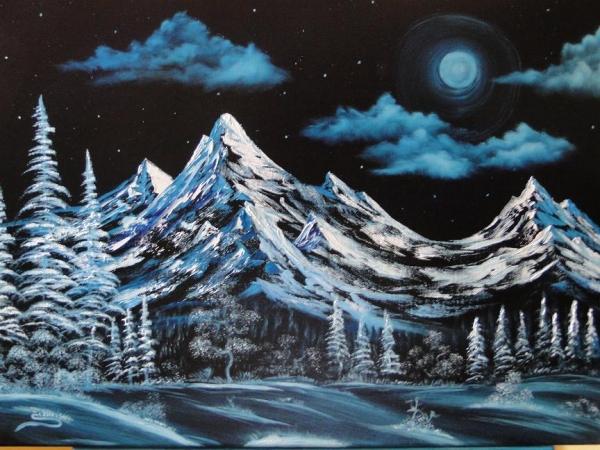 Spln v horách