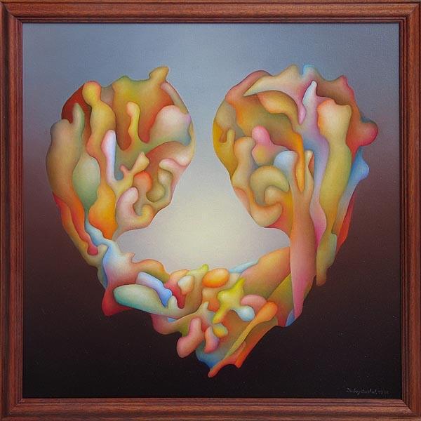 Srdce-kvet