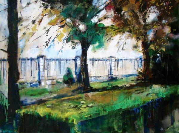 U zámeckého plotu (Náměšť na H