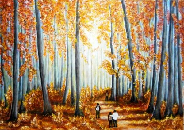 V bukovom lese..