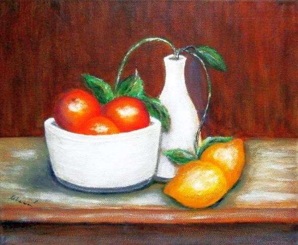 Zátišie s ovocím1