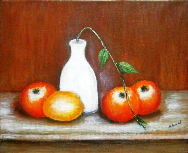 Zátišie s ovocím2