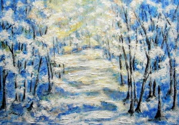 Zimná krajina1