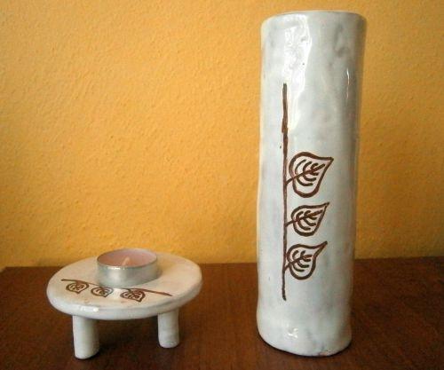 Vaza a svietnik..