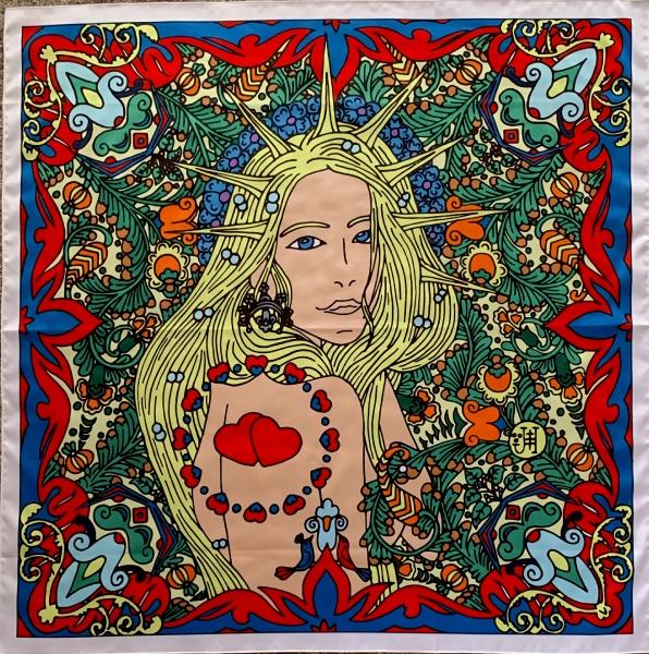 Dámský šátek s Ladou