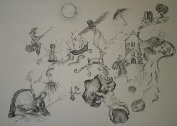 Galerie Kategorie Kresba Dilo Sny O Bezesnych Cestach Artodox Eu