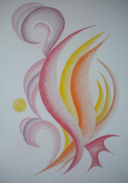 tři - abstrakce
