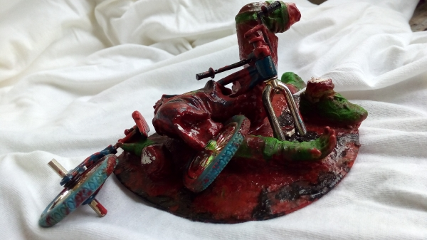 BMX accident