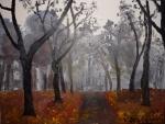 Podzimní alej