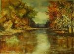 Jesenná atmosféra pri vode
