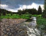 Před bouřkou - Prášilský potok