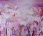 Abstrakt ružová nálada
