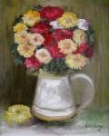 Pestré chryzantémy