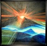 Západ slunce -prodáno