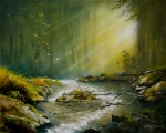 Romantický potok